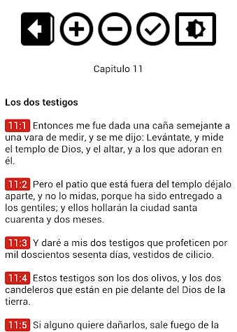 Biblia en Español Reina Valera Screenshot