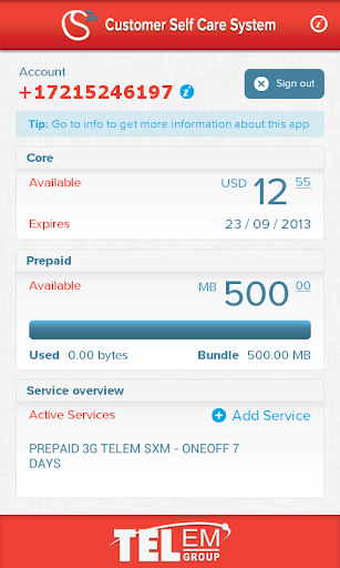 TelCell Customer Selfcare