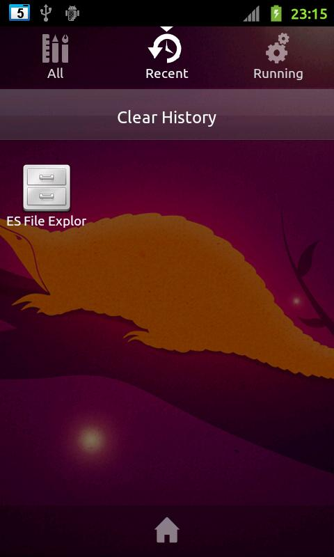 Go Ubuntu Launcher EX Theme - screenshot