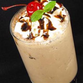 Chocolate Buzz Milkshake.