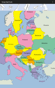 Europe map puzzle apps on google play screenshot image gumiabroncs Image collections