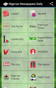 Nigeria Newspapers Daily – Nigeria Newspapers Daily sends you daily