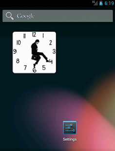 Ministry of Silly Walks Clock - screenshot thumbnail