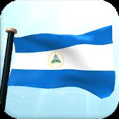 Nicaragua Flag 3D Free