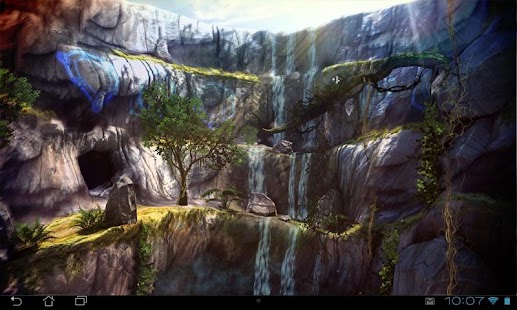 3D Waterfall Pro lwp Screenshot