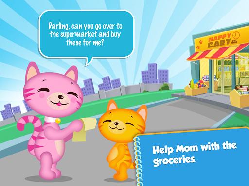 Lil' Kitten Shopping Cart