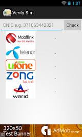 Pakistan SIM Verification Apk Download Free for PC, smart TV