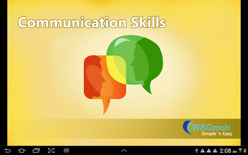 Communication Skills by WAGmob - screenshot thumbnail