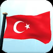 Turkey Flag 3D Live Wallpaper