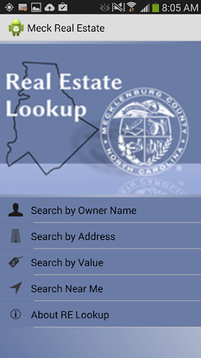 Meck County Real Estate Lookup