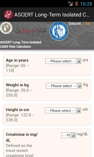 ASCERT CABG Survival Calc