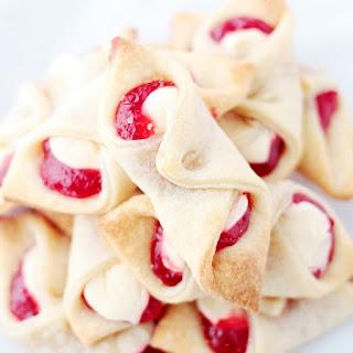 Strawberry Cream Cheese Pastries.