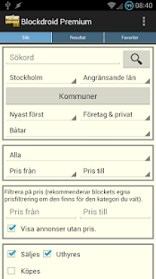 Blockdroid (Blocket-annonser) - screenshot thumbnail