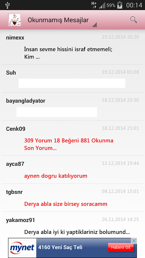 Derya Abla Ücretsiz Kahve Falı - screenshot