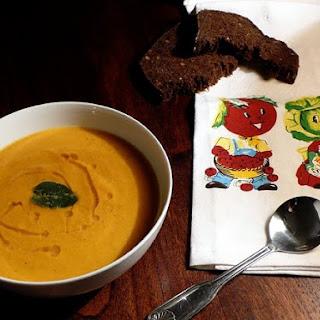 Crushy Carrot Soup with Ginger & Cumin Recipe