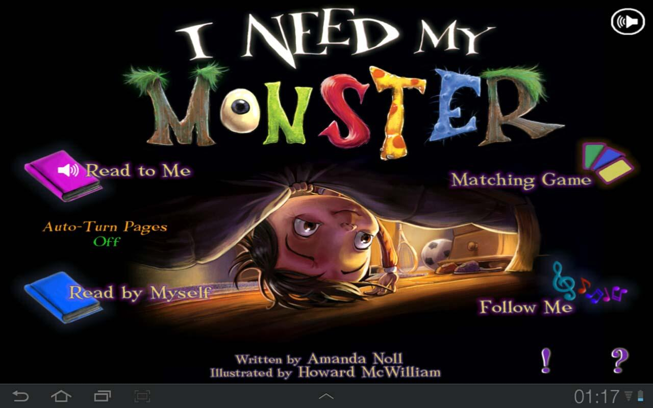 I Need My Monster - screenshot