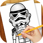 Learn To Draw Lago Star Wars
