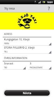 Växjö Taxi- screenshot thumbnail