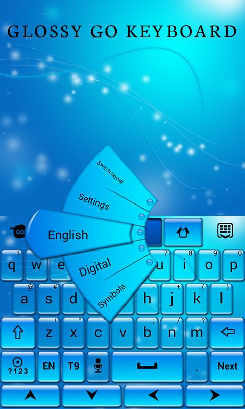 Glossy GO Keyboard Theme - Android Apps on Google Play