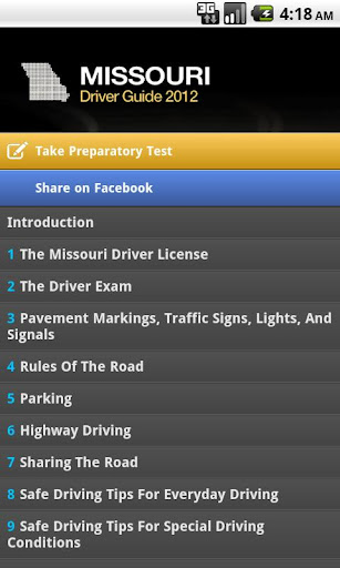 Missouri Driver Guide Free
