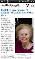 Screenshot of The Daily Mash