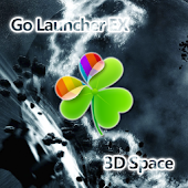 Go Launcher EX Theme 3D Space