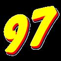 97.5 WPCV FM logo