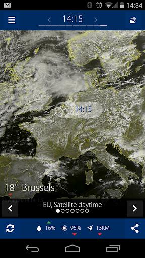Sat24, Weather satellite  screenshots 2