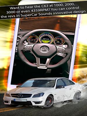 7 SuperCar Sounds App screenshot