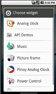 Pinoy Clock Widget free - screenshot thumbnail