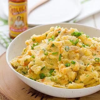 Cheddar & Cholula Mashed Potatoes
