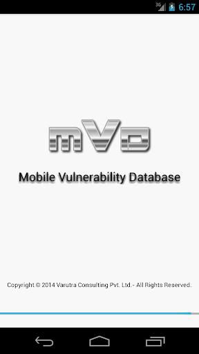Mobile Vulnerability Db - MVD