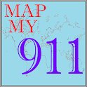 MapMy911 icon