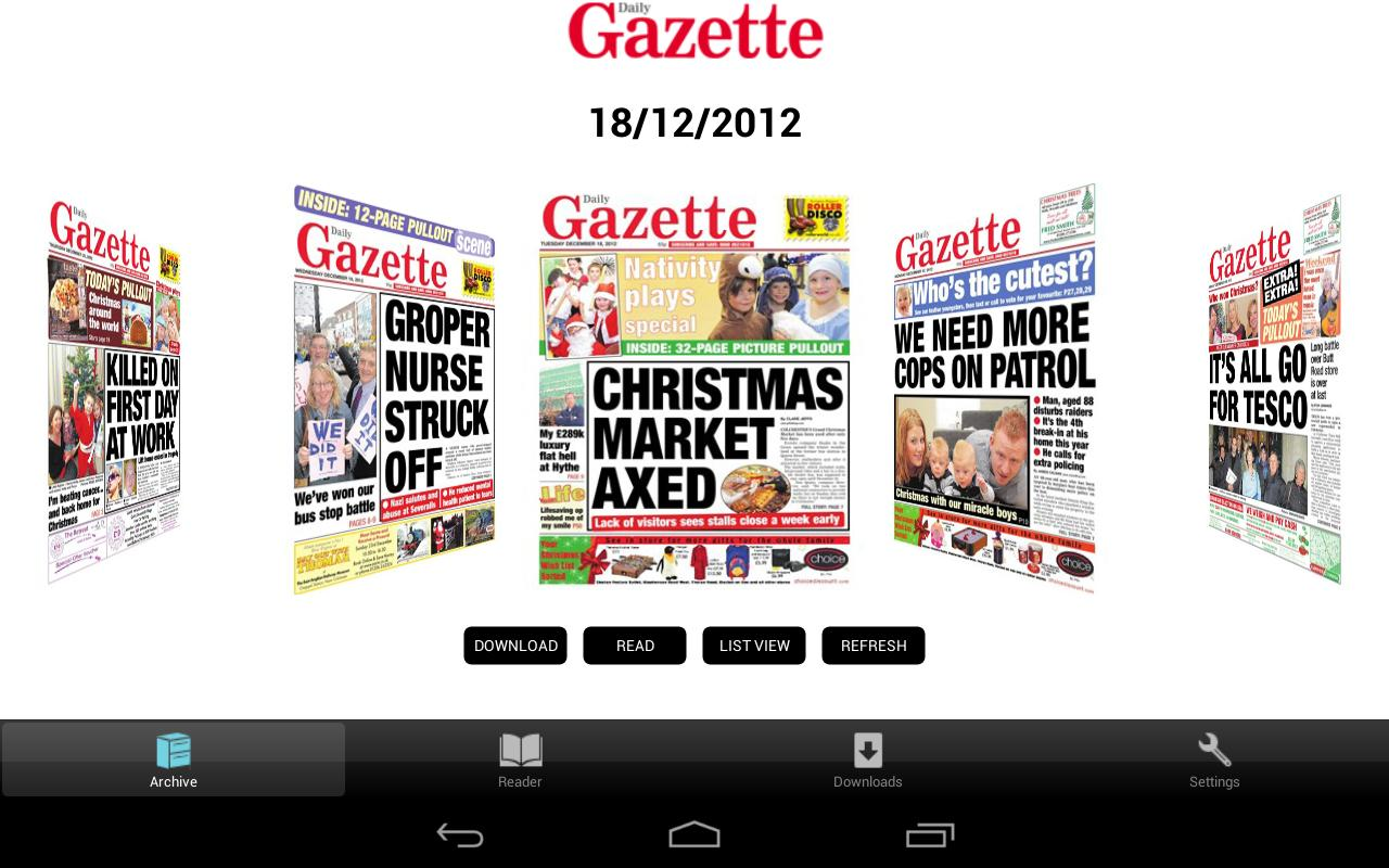 Colchester Daily Gazette -