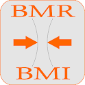 Calorie Calculator BMR + BMI icon