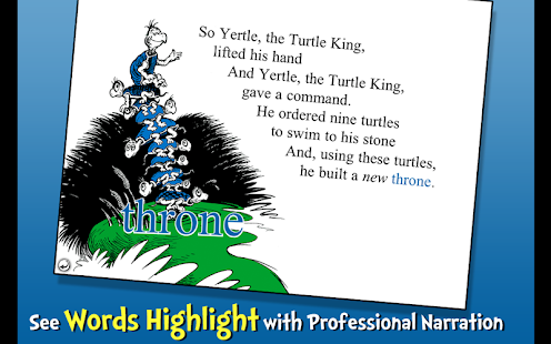 Yertle the Turtle - Dr. Seuss- screenshot thumbnail