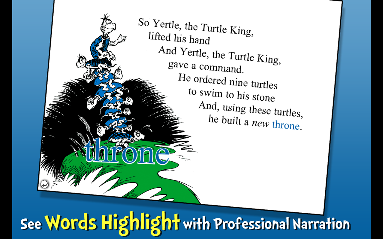 Yertle the Turtle - Dr. Seuss- screenshot