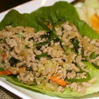 Thai Ground Chicken Basil.