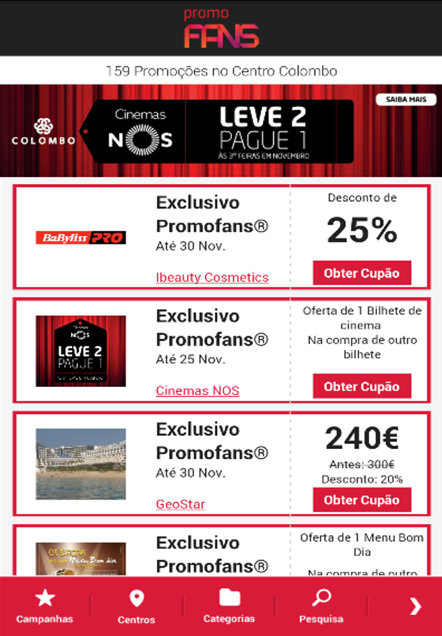 PromoFans®- screenshot