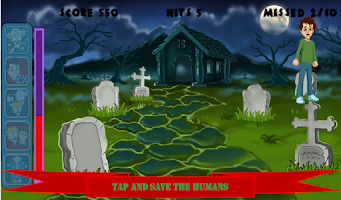 Screenshot of Whack the Zombies