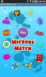 Microbe Match Game