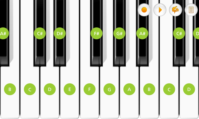 Mini Piano Pro- screenshot