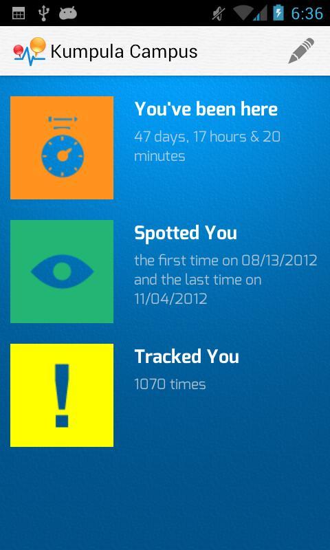 Track my Life - screenshot