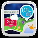 Travel GO Weather Widget Theme icon