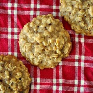Maple Brown Sugar Oatmeal Cookies.