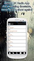 Screenshot of Select UK Radio