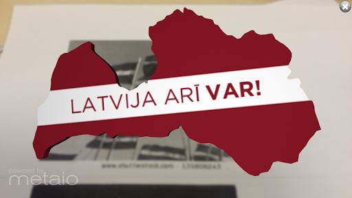 Latvija arī var