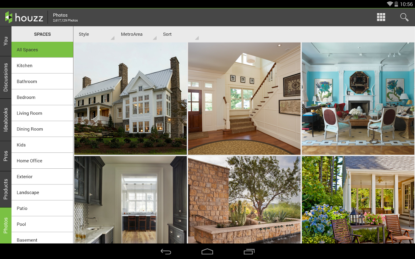 Houzz interior design ideas screenshot for Interior design decoration app