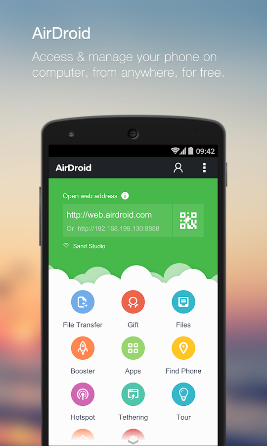 AirDroid: File & Notifications - screenshot