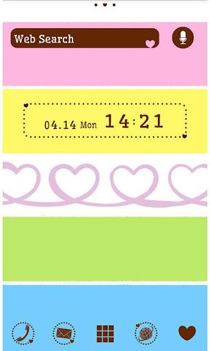 Colorful Theme-Twirly Heart- 1.0 Windows u7528 1